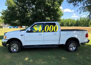 🎁$1,OOO URGENT For sale 2002 Ford F150 XLT 4X4, V8 runs and drives excellent. 87K Miles.🎁 for Sale in Worcester, MA