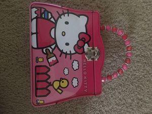 Hello kitty box for Sale in Brea, CA