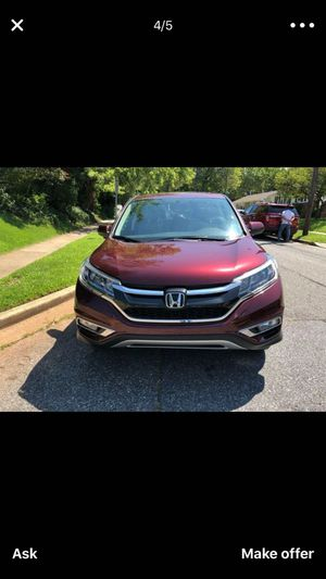 2016 Honda CRV for Sale in Hyattsville, MD