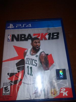 NBA 2K18 FOR PS4 for Sale in Union, NJ