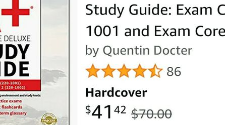 Comptia A+ 1001 & 1002 Study Guide for Sale in Washington,  DC