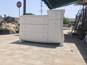 Baby changing table three drawer dresser cabinet Clairemont Mesa for Sale in San Diego, CA