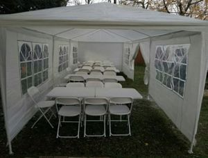 Carpa Tent 10X30 8 windows for Sale in Hurst, TX