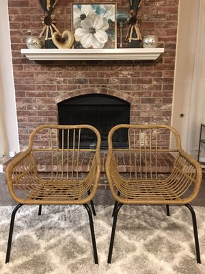 BRAND NEW OUT OF THE BOX, NEVER USED SET of 2 Patio Chairs ((READ DESCRIPTION BELOW)) for Sale in Grand Prairie, TX