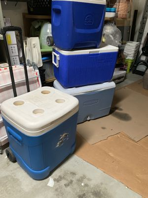 Coolers (Coleman and Igloo) for Sale in Henderson, NV