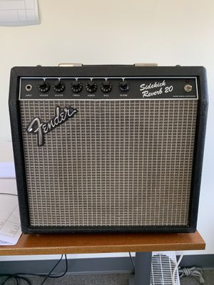 Vintage Fender Sidekick 20 Guitar Amplifier for Sale in Tustin, CA
