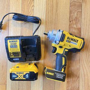 """Dewalt 20V XR 1/2"""" impact Wrench Kit for Sale in Severna Park, MD"""