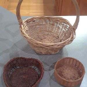 Set Of 3 Baskets for Sale in Nevis, MN