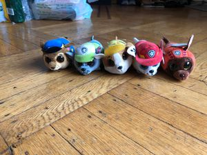 Small Paw Patrol Plushies. for Sale in Brooklyn, NY