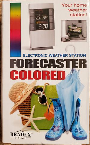 Bradex Home Electronic Weather Station Forecaster Colored Home Weather Station for Sale in San Diego, CA