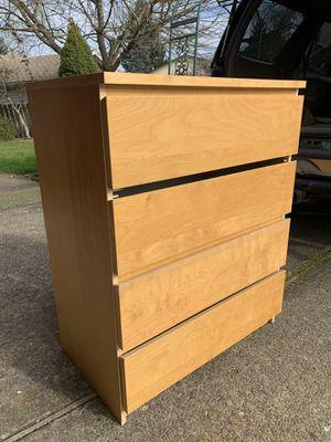 IKEA 4 drawer dresser for Sale in Portland, OR