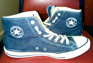 AUTHENTIC CHUCK TAYLOR CONVERSE ALL STAR SNEAKERS. BLUE. for Sale in Lakewood Township, NJ