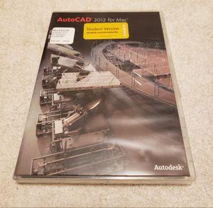 AutoCad 2012 For Mac Software for Sale in Novato, CA