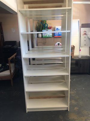 Tall bookcase with adjustable shelves for Sale in Littlerock, CA
