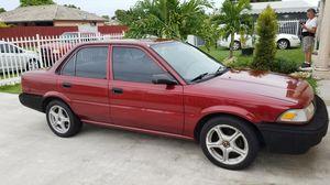 1990- Red Toyota Corolla For Sale for Sale in Miami, FL