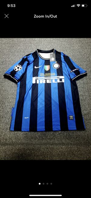 Inter milan champions league winner 2010 for Sale in Fraser, MI