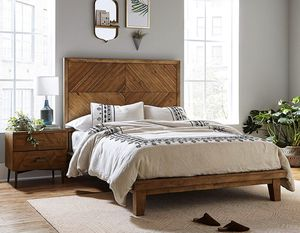 Queen Wooden Bed Frame for Sale in Newark, OH