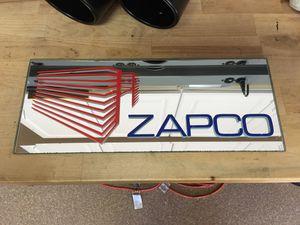 Zapco Car Audio Dealer Mirror Sign Rare Old School for Sale in Elk Grove, CA