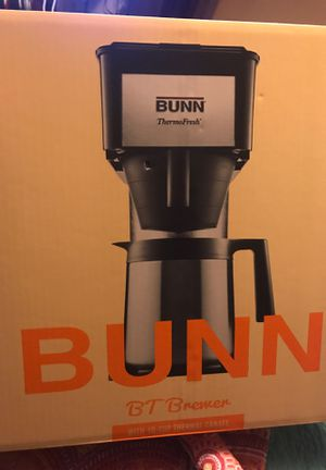Bunn 10 cup thermal carafe brewer for Sale in Anchorage, AK