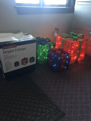 Christmas illuminated boxes for Sale in NY, US
