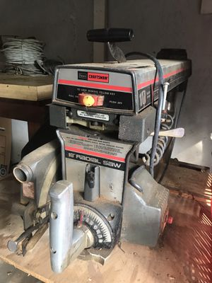 """Sears craftsman 10"""" radial table saw for Sale in Plainview, NY"""