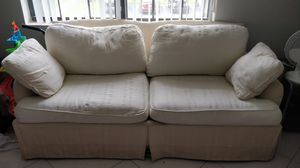 Sofa in good condition, washable cushion for Sale in Palm Beach Gardens, FL