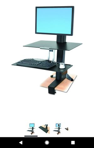 rgotron WorkFit-S Single HD Workstation with Worksurface for Sale in Los Angeles, CA
