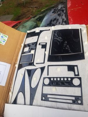 NISSAN INFINITI CARBON FIBER INTERIOR KIT for Sale in Tacoma, WA