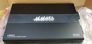 MMATS pro audio ls800x4 800 watts 4ch stereo mosfet amp for Sale in Opa-locka, FL