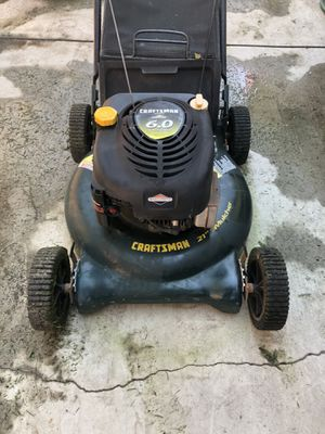 Craftsman Lawn Mower 6.0HP for Sale in Hollister, CA
