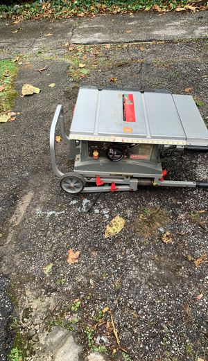 Craftsman Table saw for Sale in Highland Hills, OH