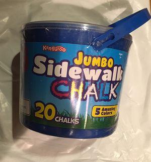 New 20 Piece jumbo chalk for Sale in Salem, SD