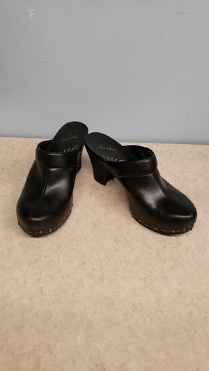 Dansko Clogs Sz. 41 (US 10 Womens) Leather Made in Brazil for Sale in West Palm Beach, FL