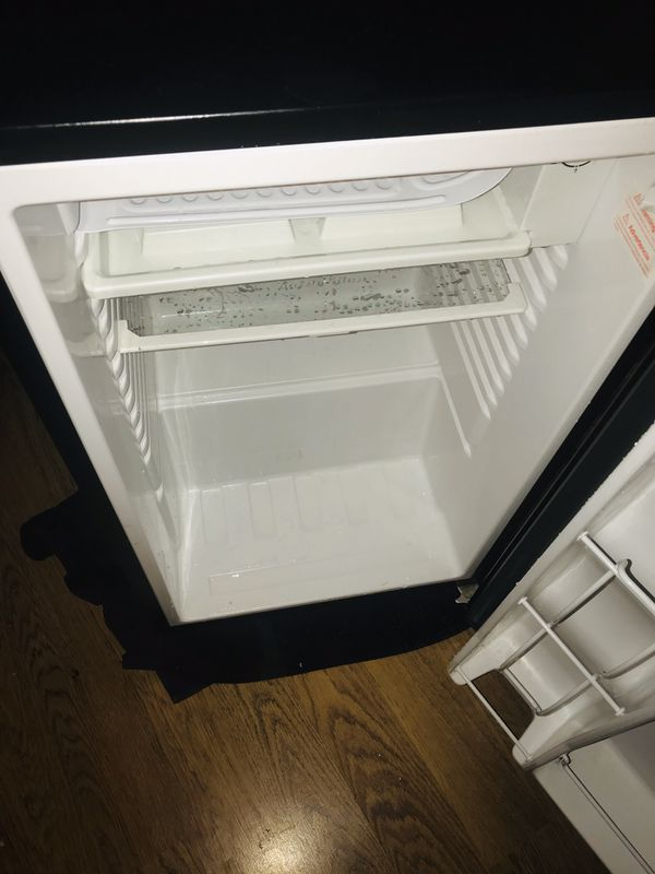 Black Mini Refrigerator