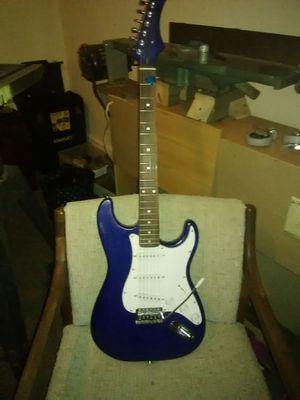 ocean blue custom built william harrison electric guitar for Sale in Williamsport, PA
