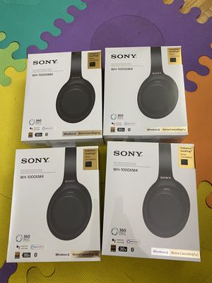 Sony WH - 1000XM4 Brand new for Sale in Philadelphia, PA