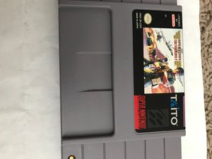 Operation Thunderbolt Original Super Nintendo Game for Sale in Columbus, OH