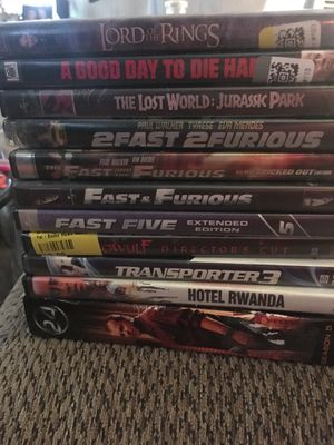 DVD's 1.00 each or make me an offer for Sale in Fort McDowell, AZ