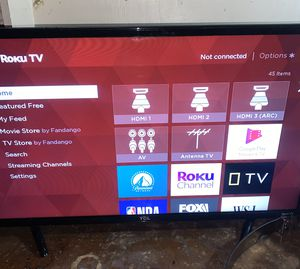TCL ROKU smart TV for Sale in Allentown, PA