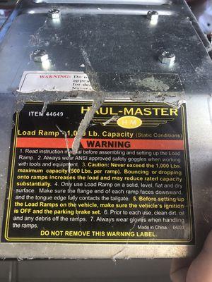 Load Ramp for Sale in Orlando, FL
