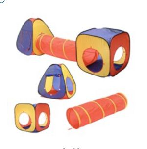 Kids Play Tent with tunnel and ball pit for Sale in Dearborn, MI