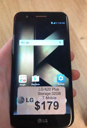 LG K20 32GB For T-Mobile/Simple Mobile $$179$$ for Sale in Arlington, VA