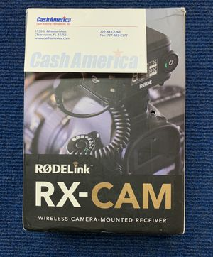 RODE Link Wireless Camera mounted Receiver for Sale in Largo, FL