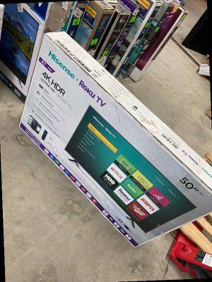 Hisense roku 50 inch tv 😎😎😎😎 UCA for Sale in West Covina, CA