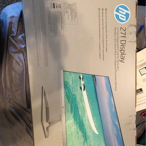 Hp Monitor 27in for Sale in Fresno, CA