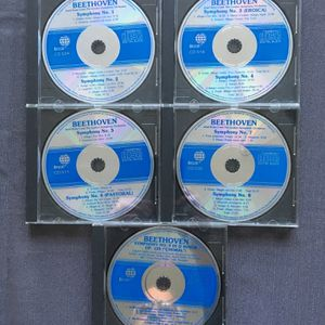 Beethoven Classical Music CD set, set of 5 compact discs, Symphonies 1 thru 9, London Symphony Orchestra, new for Sale in North Wales, PA