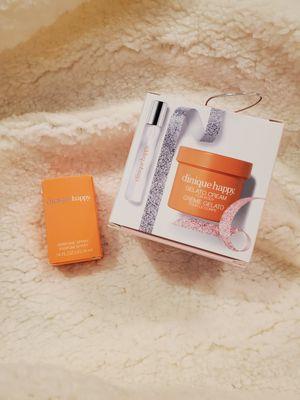 NEW Clinique Body Cream and 2 Mini Perfume Sprays for Sale in Parma, OH