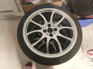 "Mini Cooper 18"" rims with tires for Sale in Avon Park, FL"