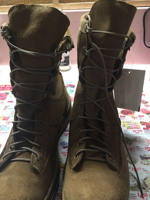 COMBAT Boots steel toe for Sale in Fresno, CA