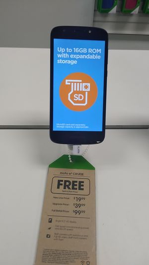 Get a a Moto e5 Cruise for free when you switch! Come see us in Pace! for Sale in Pace, FL